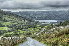 """Top End Of Lake Windermere from """"The Struggle"""" (D.R.Williams) Tags: lake district hills lakes"""