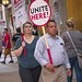 Unite Here Local 1 Hotel Workers on Strike Downtown Chicago Illinois 9-17-18 3929