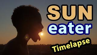 Sun Eater - Youtube Video - Ben Heine