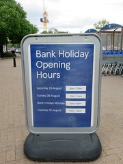 August 2018 Bank Holiday Opening Tesco Supermarket Oakham Rutland (@oakhamuk) Tags: august 2018 bankholiday opening tesco supermarket oakhamrutland
