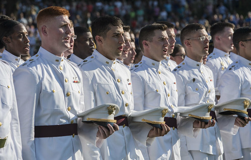 Class of 2019 Cadets Receive Class Rings