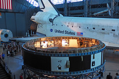 Space Shuttle Discovery 2 (PDX Bailey) Tags: aviation air space smithsonian museum udvarhazy center steven shuttle discovery virginia national hangar nasa united states available light olympus em1 spaceshuttle