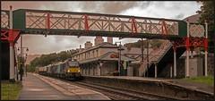 Penmaenmawr  - 6D43 (peterdouglas1) Tags: northwalescoastrailway penmaenmawr stations valleyflasks 88005 88002 footbridges class88 6d43