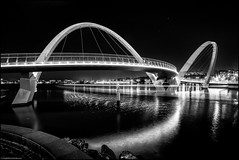 The White Arc (niggyl (well behind)) Tags: elizabethquay elizabethquaybridge perth westernaustralia perthwesternaustralia backlit backlight backlighting drama dramatic fujifilm fujifilmxt2 fujixt2 fuji xt2 samyang samyang12mmf2 samyang12mm rokinon rokinon12mmf20ncscs samyang12mmf20ncscs samyangcsc12mmf20ncscs starship scifilandscape night nightlights nightphotography longexposure illuminatedlandscapes cityscape le