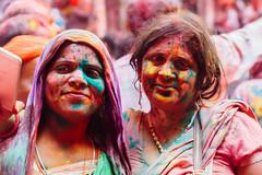 Women in Gulal in Shri Banke Bihari Mandir (AdamCohn) Tags: abeer adamcohn bankebiharimandir hindu india shribankeybiharimandir vrindavan gulal holi pilgrim pilgrimage अबीर गुलाल होली