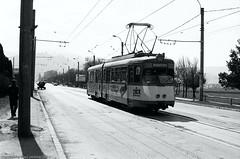 Street December 13th (Drehscheibe) Tags: nikonf2 street strassenbahn streetcar blackwhite tram hp5plus ilfordmicrophendeveloper film