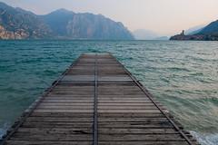 Malcesine at Lake Garda (alxfink) Tags: malcesine gardasee lagodigarda sea lake mountain lumix