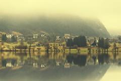 0822 Foggy Spring Morning (Hrvoje Simich - gaZZda) Tags: house reflection trees lake pond outdoors town noperson travel bohinj slovenia europe nikon nikond750 sigma150500563 gazzda hrvojesimich