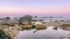 Far away (- A N D R E W -) Tags: rockpool seascape color colorful canon 80d 1855mm nature atardecer beach