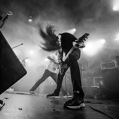 Stabbed (un2112) Tags: dürerkert stabbed concert gig koncert live metal music musician rock zenész budapest g80 monochrome blackandwhite bw