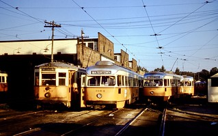 MTA 5752-3164-3130-3131 WatertownYd 8-29-1958cf