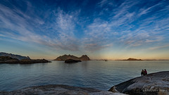 Sweet evening at Svolvaer (Norway) (christian.rey) Tags: evening svolvaer norway sea mountains rocks lofoten islands îles paysage landscape seascape sony alpha a7r2 a7rii 1635