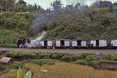 Bukittinggi Express (Bingley Hall) Tags: transport transportation train trainspotting rail railway railroad locomotive engine asia indonesia sumatra steam 0100t rack narrowgauge 1067mm bukittinggi