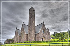 Saint Patrick's Church / Eaglais Naomh Phádraig (Runemaker) Tags: stpatrickschurch eaglaisnaomhphádraig church saint patrick donegal ireland architecture hdr clouds sky