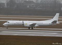 SkyWork Airlines Saab 2000 HB-IYA (birrlad) Tags: munich muc airport germany skywork airlines saab 2000 hbiya turboprop ceased ops