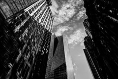 New YorkBW0161 (schulzharri) Tags: new york black white schwarz weis city stadt usa amerika america travel monochrome reise town skyscraper scraper hochhaus building architecture archhitektur art