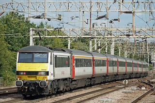 Greater Anglia 90008 - Colchester