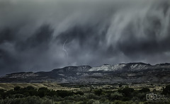 At the heart of the problem (Dave Arnold Photo) Tags: co colo colorado debeque westernslope grandjunction lightning mountains storm stormy thunderstorm thunder monsoon image pic us usa picture severe photo photograph photography photographer davearnold davearnoldphotocom beautiful fantastic travel scenic cloud wallcloud shelfcloud rockymountains top wet daylight canon 5d mkiii 100400mm huge big mountain rock perfect garfieldcounty palisade landscape nature summer sunset tree forest rural coloradoriver outdoor weather rain virga rayos cloudy sky
