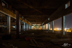 It's Over #1 (TVZ Photography) Tags: oceanview castletown isleofportland weymouth dorset southwest england derelict abandoned decay buildingsite architecture building construction night evening longexposure lowlight sonya7riii zeiss loxia 21mm