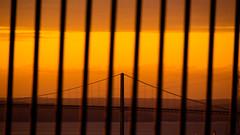 The Bridge (kevin_kornelsen) Tags: nikon photography bridge halifax dartmouth novascotia sunset orange yellow glow golden