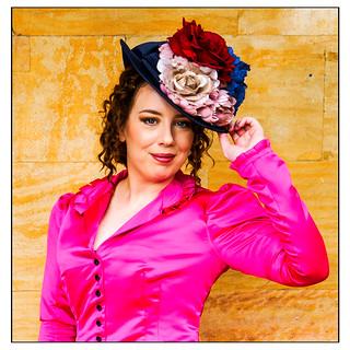 Steampunk with bonnet
