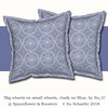 'Big wheels on small wheels, white on blue by Su_G': cushion mockup (Su_G) Tags: 2018 sug bigwheelsonsmallwheelswhiteonbluebysug cushion mockup cushions roostery spoonflower wheel wheels cycle cycleoflife chalk chalktexture round circle circles spokes cyclewheels prussianblue blueandwhite bigwheelsonsmallwheelsinpalewhitechalkonsoftprussianbluebysug softfurnishing softfurnishings soft palewhitechalk softprussianblue homedecor homefurnishing homefurnishings interiordecoration interiordecor modernfarmhouse summer picnic tablewear handdrawn solarmotif