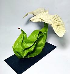 Eagle - designed by Nguyễn Hùng Cường (Nguyễn Tuấn Tài) Tags: origami eagle paper