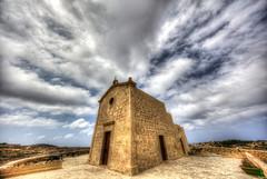San Dimitri Chapel (CraDorPhoto) Tags: canon5dsr landscape architecture sky clouds gozo malta chapel
