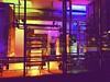 ABSTRACT I (Casey Hugelfink) Tags: badaibling thermebadaibling bayern bavaria germany lights illumination beleuchtung lichter nacht night colors colours farben technik tecnology electricengineroom maschinenraum spaceship raumschiff