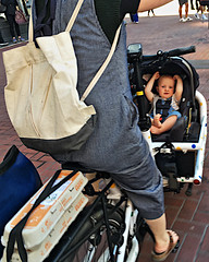 20180908 pcm24 cargo-bike-baby (Jym Dyer) Tags: bakfiets bicycle cargobike riseforclimate sanfrancisco