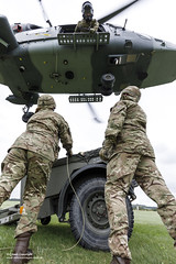 Army Air Corps Reserves train with Wildcat helicopters (Defence Images) Tags: wildcatmk1 utilityandreconnaissance aircraft equipment 6regtaac 6thregiment armyaircorps regiments army training wildcat usl soldiers reserves rh middlewallop jhc helicopter flying armyreserves aircorps arf aac decent safety rope underslungload defence free defense uk british military hampshire