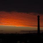 A York Sunrise - The Destructor Chimney