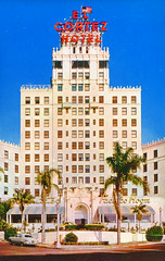 El Cortez Hotel, San Diego, California (Thomas Hawk) Tags: america california elcortezhotel sandiego usa unitedstates unitedstatesofamerica vintage postcard fav10 fav25
