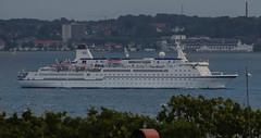 The classic German cruise ship Berlin (frankmh) Tags: ship cruiseship berlincruiseship öresund traumschiff