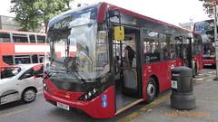 P1130266 1288 YX68 UJF at Mile End Station Grove Road Mile End London (LJ61 GXN (was LK60 HPJ)) Tags: ctplus hackneycommunitytransportgroup enviro200 enviro200d e200d enviro200mmc enviro200dmmc mmc majormodelchange 109m 10870mm 1288 yx68ujf h2976