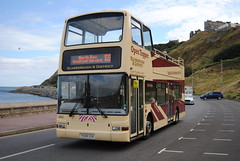 Scarborough open top (Hesterjenna Photography) Tags: x588egk bus coach psv eyms eastyorkshiremotorservices eastyorkshire scarborough volvo b7tl opentop opentopper plaxton president londonbus london yorkshire
