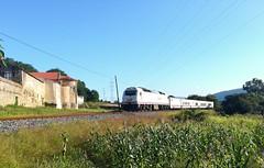 Tren Hotel Atlántico (javivillanuevarico) Tags: galicia renfe trenes líneaferrolbetanzos 333406