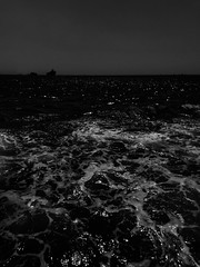 Drown (r.kootval) Tags: trip travel iphone iphonegraphy iphone7pluse apple mobilegraphy flickr boat dark contrast black bnw bw blackandwhite sea turkey istanbul