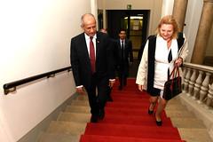 Außenministerin Karin Kneissl empfängt ihren nepalesischen Amtskollegen (Österreichisches Außenministerium) Tags: nepal pradeepkumar kneissl austria
