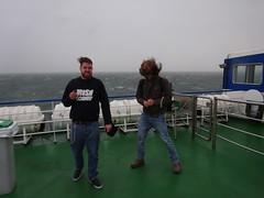 Rienk & Beinte op de veerboot naar Terschelling (willemalink) Tags: op de veerboot naar terschelling