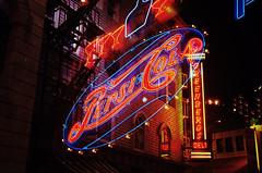 New York New York, Las Vegas (cestlameremichel) Tags: canon ae1 kodak portra night nevada lights circus strip las vegas boulevard 800 film 35mm analog analogue analogica filmisnotdead argentique