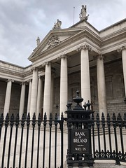 Bank of Ireland (Cocoabiscuit) Tags: cocoabiscuit iphone dublin ireland bank column