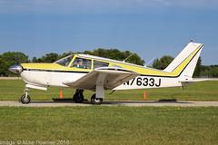 N7633J - 1969 build Piper PA-28R-180 Cherokee Arrow, at Oshkosh during Airventure 2018 (egcc) Tags: 28r31029 airventure airventure2018 arrow cherokee cherokeearrow eaa kosh lightroom n7633j osh oshkosh pa28 pa28r pa28r180 piper skyhawkrentals