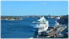 Strömmen - Stockholm (lagergrenjan) Tags: eriks gondolen stockholm strömmen utsikt restaurang birka kryssningsfartyg stadsgården