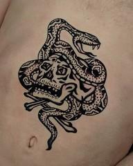2018-03-24 23.01.41 1742538086897670353_182803505 (Aperrytattooer) Tags: traditional tattoo traditionaltattoo coleman skull bert grimm bertgrimm colemangirl colemanskull