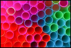 Color Chaos (Inky-NL) Tags: macromondays multicolor colors colours chaos bright straws rietjes shallowdof dof round circles abstract ingridsiemons©2018 vivid fujixt2 xt2 fuji60mmf24 macro closeup pattern geometric