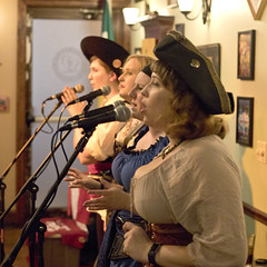 Misbehavin' Maidens at the Limerick Pub (dckellyphoto) Tags: band pirate music musicians bar perform women female group misbehavinmaidens maryland md performance singing singer sing troupe concert