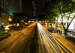 Just Follow The Light (fantommst) Tags: lisaridings fantommst singapur singapore scotts street nighttrails traffic busy nightscape movement lights cityscape time exposure city urban tribute rip