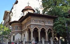 Monasterio Stavropoleos (Bucarest, Rumanía, 22-8-2018) (Juanje Orío) Tags: 2018 bucarest rumanía românia monasterio iglesia church pintura arte art stavropoleos