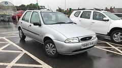 Fiesta LX (Sam Tait) Tags: ford fiesta lx 125 zebec silver 5 door 1998 petrol